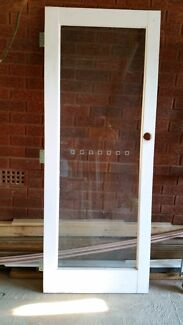 1 lite timber and glass door South Penrith Penrith Area Preview