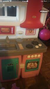 Kids play kitchen