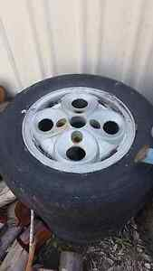 Alloy mags, rims and tyres, steel wheel. Mooloolah Valley Caloundra Area Preview