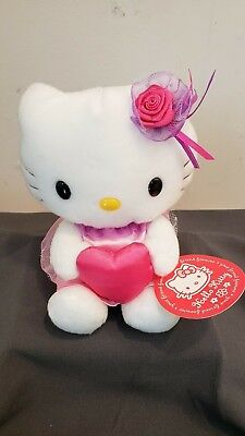 Hello Kitty Valentine (RARE Sanrio Smiles 2003 Hello Kitty Valentine's Plush)