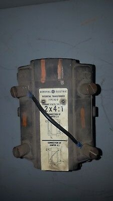 General Electric Potential Transformer 2x41 Type Jvz-0 760x33g 4