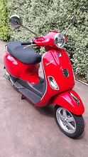 Red Vespa LX50 Viewbank Banyule Area Preview