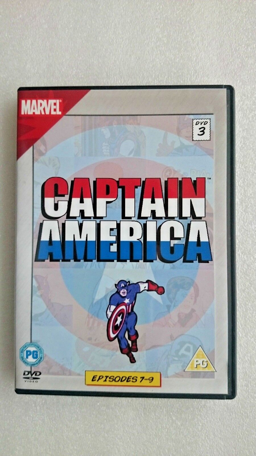 Captain America Episodes 7-9 Vol 3 DVD