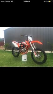 2015 KTM Sx-F  only 4.3 hours Williamstown Barossa Area Preview
