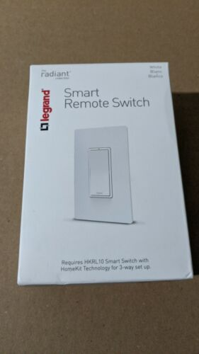 Legrand Smart Remote Switch HKRL20, White, Radiant Collection
