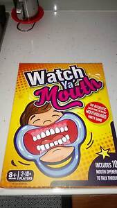 Watch Ya Mouth Board Game Campbelltown Campbelltown Area Preview