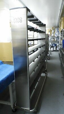 Innovive Ivc Rat Single 8 Row 5 Column 40 Cage Ventilated Rodent Housing Rack