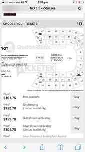 SLIPKNOT Slipknot Qudos Bank Arena standing Ga Daceyville Botany Bay Area Preview