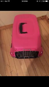 Pink cat or small dog carrier!