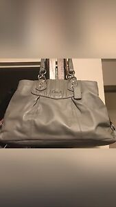 Coach purse leather