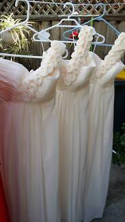 3 brand new bridesmaids dresses all size S