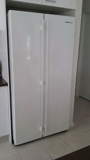 Fridge freezer white double door Fisher and Paykel
