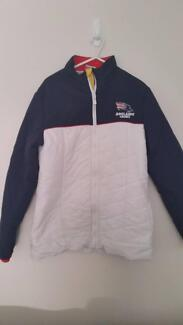 Genuine Official AFL ADELAIDE CROWS padded jacket size 12