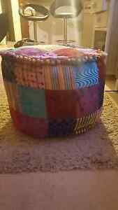 Foot Stool - Patchwork North Perth Vincent Area Preview