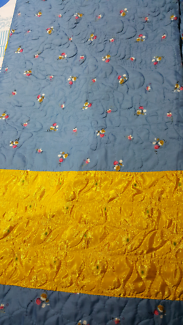 Double sided bedsheet
