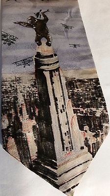 Mens King Kong Silk Tie Imported Novelty NeckTie American Film Classics 1992