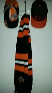 Wests tigers caps and scarf