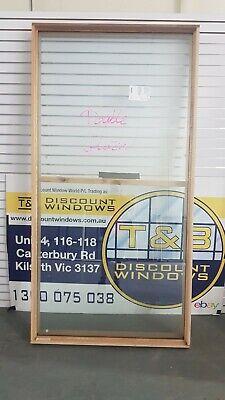 Timber Fixed Window 2290H x 1165W  (Item 5001) DOUBLE GLAZED