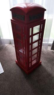 BRITISH LONDON TELEPHONE BOX CABINET SHELF CUPBOARD Little Bay Eastern Suburbs Preview