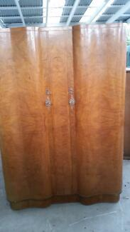 1950's 2 x wardrobes and dressing table