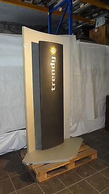 Merkur Trendy Gerätestation 2er für Standgeräte, Geräteinsel, Touchgeräte V4150