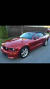 Ford Mustang GT California Special Convertible 2008 Rouge Candy