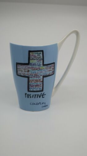 Churchill COLDPLAY POSITIVE WHATEVER IT TAKES MUG Animated Band Members AS IS