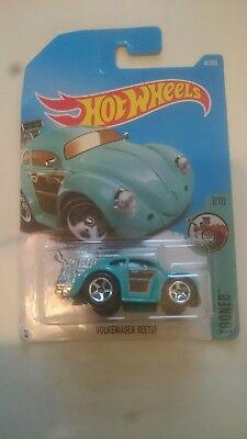 Hot Wheels - VW Volkswagen Beetle hotrod hot rod dragster - HW Tooned series MOC