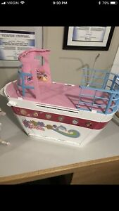 Barbie cruise ship and horse