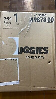 Huggies Snug & Dry  Diapers Size 1  264 Count