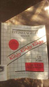 Kirby Vacuum Heritage II Parts