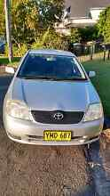 Toyota Corolla 2003 Hatch Baulkham Hills The Hills District Preview
