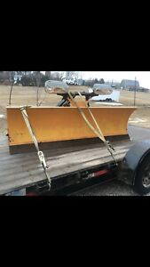 8' fisher truck plow