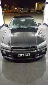 MUST SELL R34 skyline gtt turbo manual e85 400rwkw Sunshine West Brimbank Area Preview