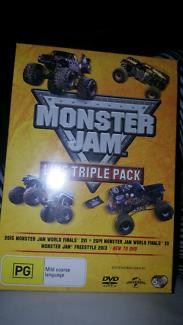 Dvd monster jam live triple pack.. bnip $20