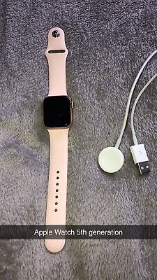 Rose Gold Apple Watch Series 5
