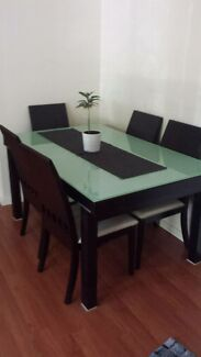 Dining table with 6 chairs Rockdale Rockdale Area Preview
