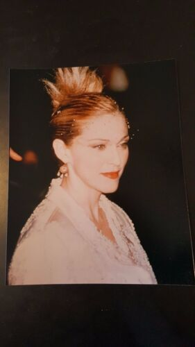 Vintage Madonna 8x10 Color Photo