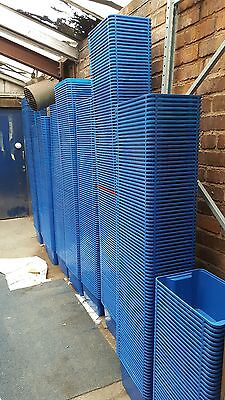 Used IKEA Blue Storage Tubs / Bins x100pcs