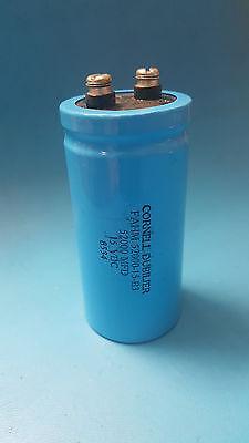 Capacitor Aluminum Screw Terminal52000uf15v Cornell Dubilierfahm52000-15-b3