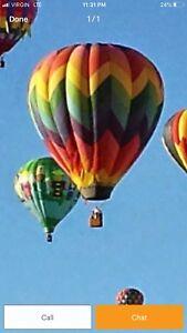 Sundance Hot Air Balloon Ride