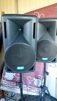 P.A or DJ Active speaker and mixer system Dalby Area Preview