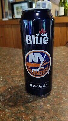 New York Islanders Labatt Blue 24oz Beer Can -NHL - 2019-2020 season