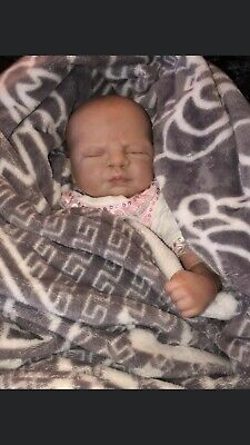 """18"""" Reborn girl doll. Amazing condition, Lifelike features & details."""
