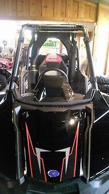 "Polaris RZR RS1 Tinted,Smoked Full Front Windshield - A FULL 1/4"" THICK!!"