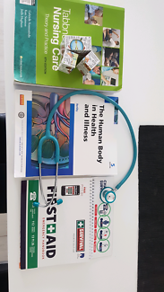 Enrolled nursing textbooks