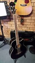 Ibanez Acoustic/Electric AEB8E Bass Guitar Belmont Lake Macquarie Area Preview