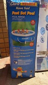 Clark Rubber Fast Set Pool with Filter, Pump and Accessories! Panorama Mitcham Area Preview
