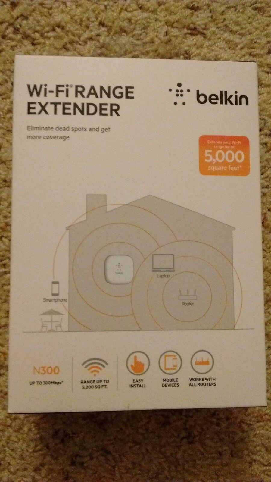 Belkin Wireless Range Extender N 300 Model F9K1015V1
