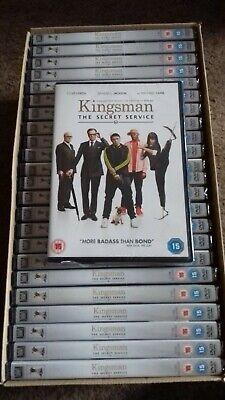 25 X KINGSMAN THE SECRET SERVICE  - DVD - NEW SEALED - JOBLOT